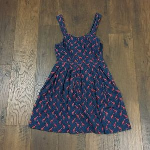 Cooperative Dresses - Urban Outfitters Cooperative red giraffe dress